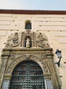 Fachada del Convento de Santa Catalina de Zafra