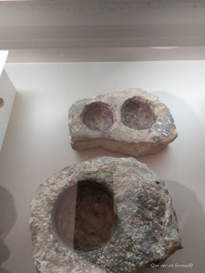 Piedras donde se hallaron los libros Plumbeos