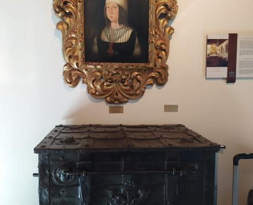 retrato de Isabel la Católica en el Parador