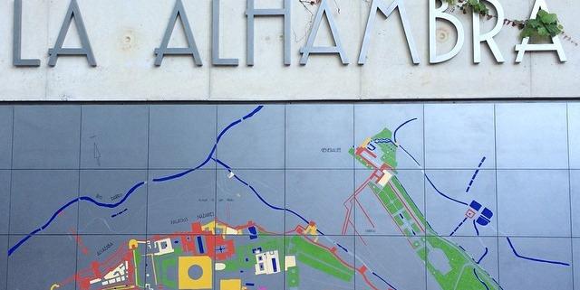 Mapa Mural de la Alhambra