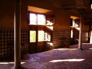 Sala del Mexuar, primer palacio que se visita en la Alhambra