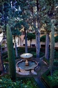 Patio de Lindaraja de la Alhambra