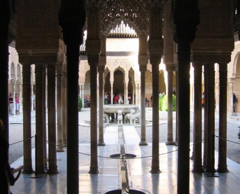 Sala de los Mocarabes del palacio de los Leones