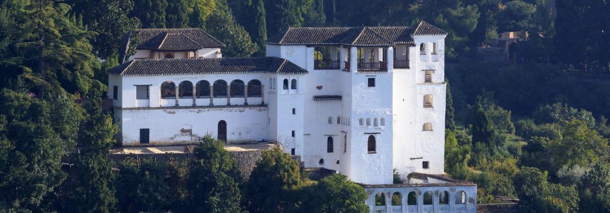 Partes de la Alhamba Palacio y Jardines del Generalife