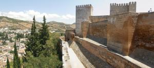 Alcazaba doble muralla