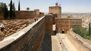 dinastía nazarí Alcazaba Torre de la Vela