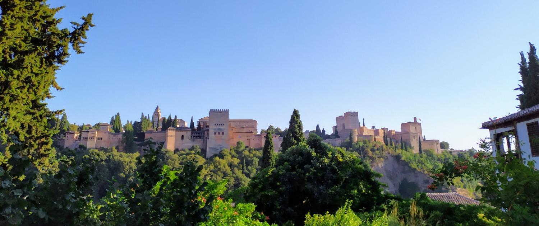 Alhambra desde el Carmen de la Victoria 2