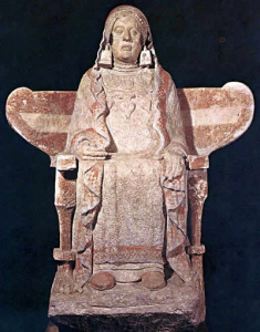 Dama de Baza escultura íbera