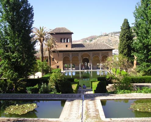 El Partal el palacio mas antiguo de la Alhambra