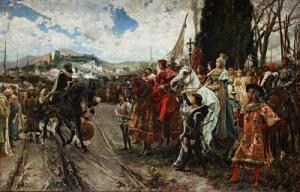 Historia de GranadaLa_Rendición de Granada Pradilla