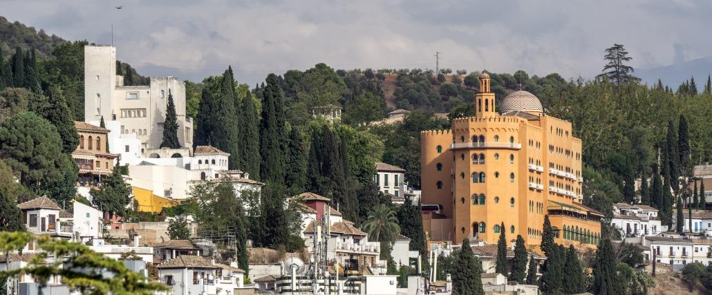 Hotel Palace y Fundación Rodríguez Acosta