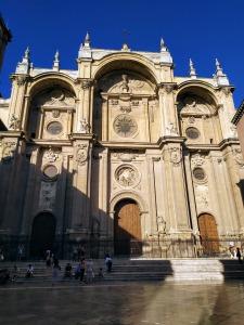 Fachada principal de La Catedral de Granada trazada por Alonso Cano