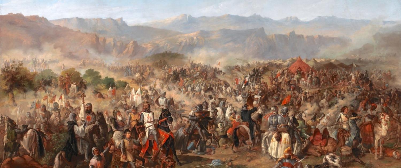 Batalla de las Navas de Tolosa,_por_Francisco_van_Halen