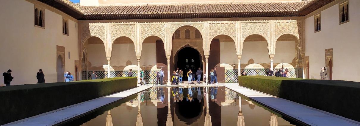 El Palacio de Comares, Salón de Embajadores o Salón del Trono.