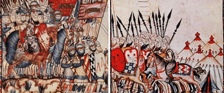 Historia de Al andalus, jinetes musulmanes