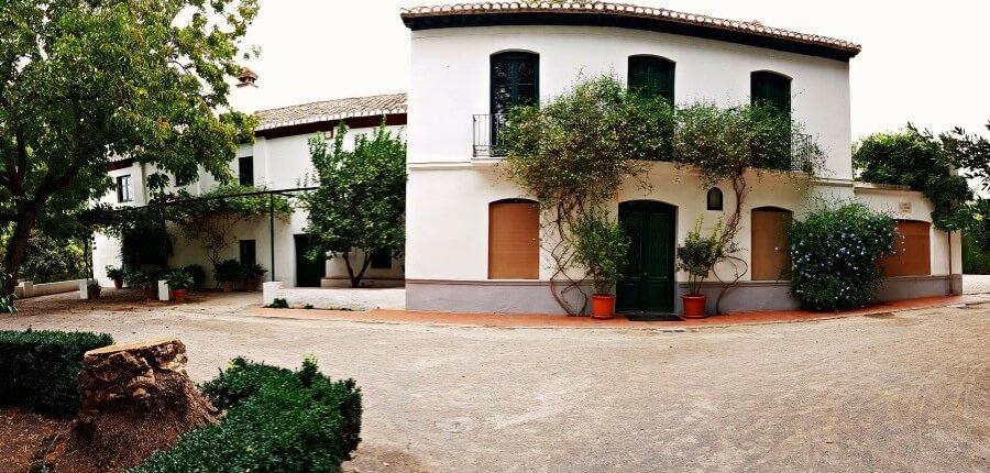 Museos en Granada la-huerta-de-san-vicente-en-granada