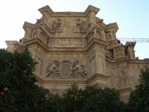 Escudo del Gran Capitán, Monasterio de los Jerónimos