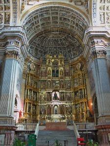 Retablo mayor del Monasterio de San Jerónimo