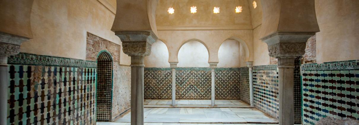 Los baños de la Alhambra