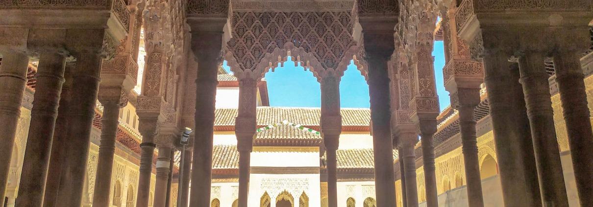 Sala de Mocarabes, Palacio de los Leones