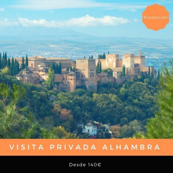 Visita privada Alhambra