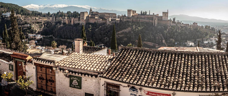 Qué ver en Granada, Mirador de San Nicolás