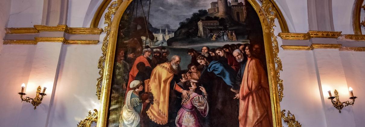 Cuadro de San Cecilio Evangelizado