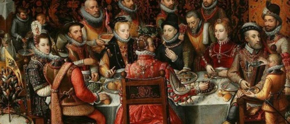 Carlos V en la mesa